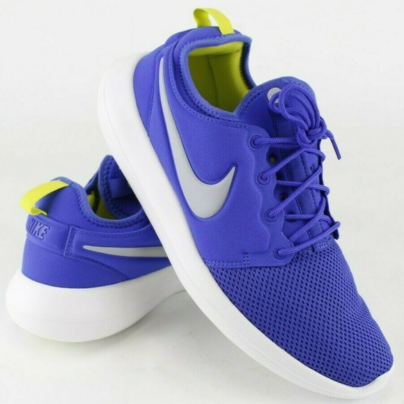 Nike Other - Nike Mens Roshe Two Running Shoes Sz 11.5 Blue NWT